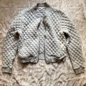 Gap women's quilted bomber jacket